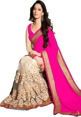 Airs Fashion Embriodered Fashion Georgette Sari