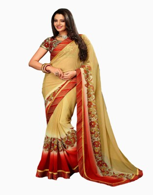 Manjaree Printed Fashion Chiffon Sari