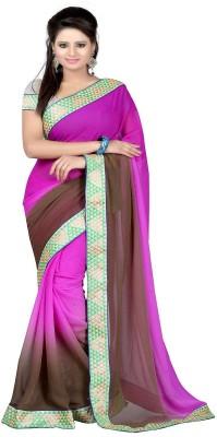 Majestic Silk Embellished Fashion Chiffon Sari
