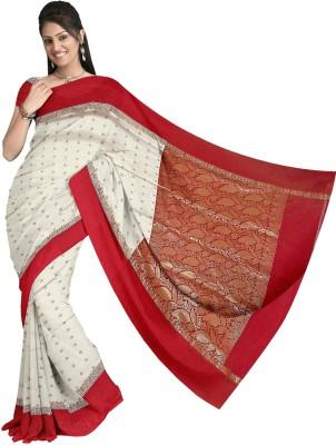 KapoorSarees Self Design Banarasi Silk Sari