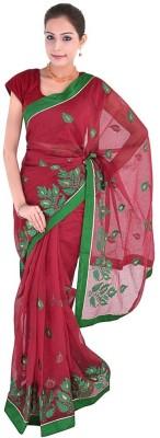 Great Art Embriodered Fashion Net Sari