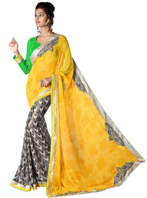 Admyrin Printed Fashion Georgette Sari