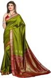 Shobha Sarees Self Design Bomkai Poly Si...