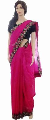 INDIANA FAB Embellished Fashion Net Sari