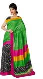 365 Labels Printed Bhagalpuri Art Silk S...