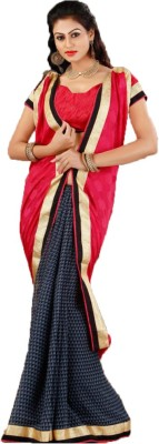 Unique Dresses Printed Fashion Georgette Sari