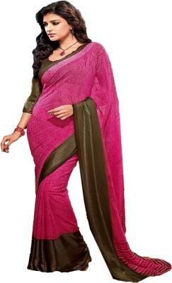 Manjaree Self Design Fashion Georgette Sari