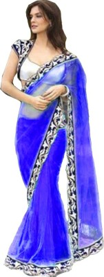 Bollywood Designer Self Design Bollywood Net Sari