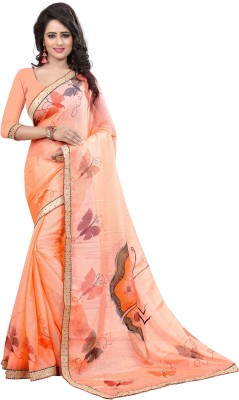 Pehnava Hand Painted Bollywood Jacquard Sari