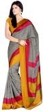 Miraan Printed Mysore Art Silk Saree (Mu...