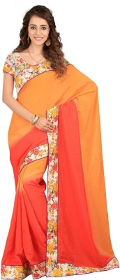Greenleaf Printed Fashion Jacquard Sari