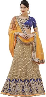Fashion Forever Embriodered Fashion Net Sari