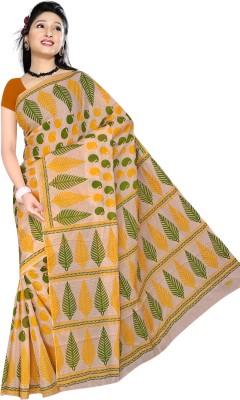 Brijmani Printed Daily Wear Cotton Sari