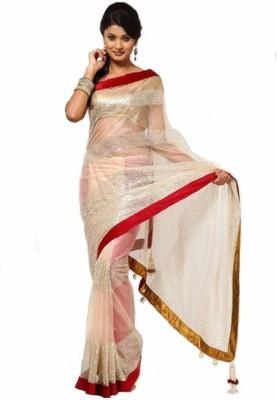 Pakiza Design Embriodered Fashion Net Sari