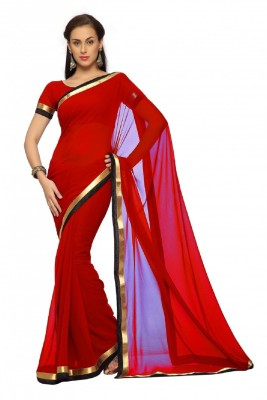 JAVEDCOLLECTION Self Design Bollywood Cotton Sari