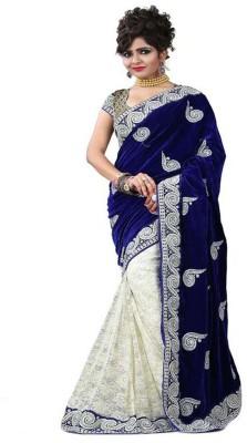 Sonakshi Sarees Self Design Mysore Velvet Sari