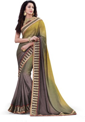 Laajjo Self Design Fashion Jacquard Sari