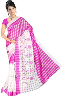 Shree Balaji Textile Embriodered Banarasi Synthetic Sari