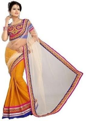 Seera Embriodered Fashion Net Sari