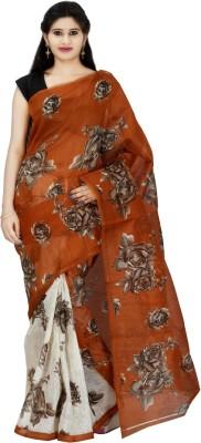 indianmade Printed Fashion Cotton Saree(Multicolor) at flipkart