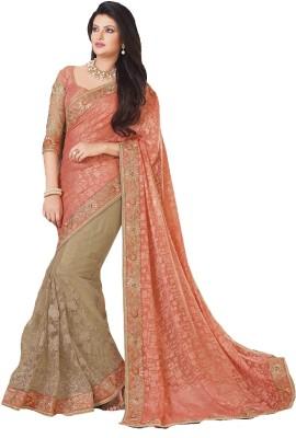 Fashion Forever Embriodered Fashion Brasso, Net Sari