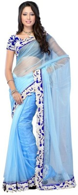 Vani Creations Embriodered Bollywood Net Sari