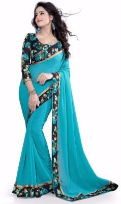 Vastrangam Self Design Fashion Georgette Sari
