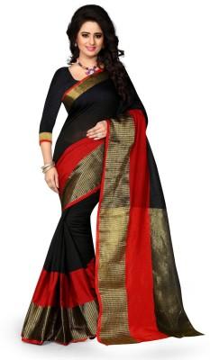 Clothvilla Printed Banarasi Art Silk Sari