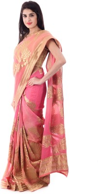 Shri Krishnam Embriodered, Embellished Fashion Georgette Sari
