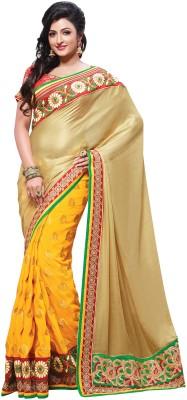 Kashish Lifestyle Self Design, Solid Fashion Jacquard Sari
