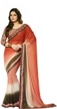 Aarti Embriodered Fashion Georgette Sari