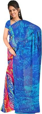 Premium Fashion Printed Bollywood Synthetic Georgette Sari