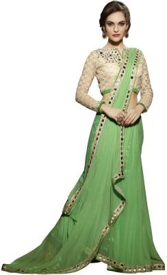 Fashionate Embriodered Fashion Chiffon Sari