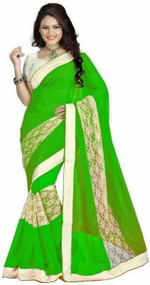 SareeShop Embriodered Fashion Georgette Sari