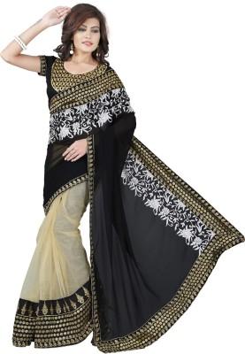 vtfashion Embriodered Bollywood Georgette Sari