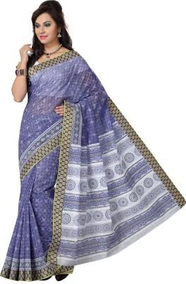 Deepika Couture Printed Bollywood Cotton Sari