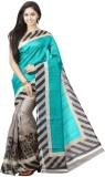 FastColors Printed Bhagalpuri Art Silk S...