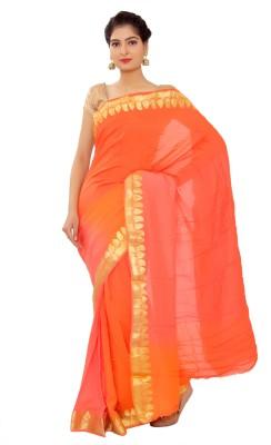 Shri Narayan Fashions Plain Fashion Silk Sari
