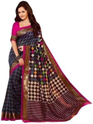Ruchifashion Solid Bhagalpuri Cotton Sari