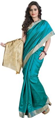 E-Vastram Plain Bollywood Art Silk Sari