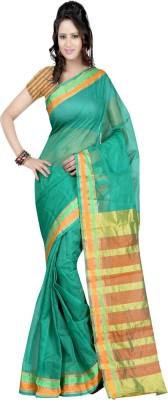 Sanju Sarees Printed Chettinadu Kota Cotton Sari