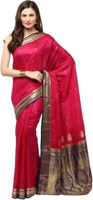 Fabroop Woven Fashion Pure Silk Sari