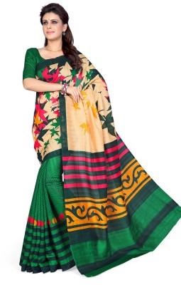 Mirchi Fashion Printed Fashion Art Silk Sari