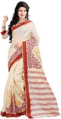 Govindam Embriodered Assam Silk Silk Sari