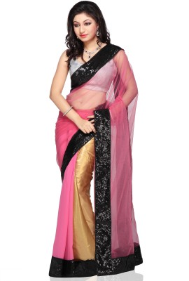 RCPC Solid Bollywood Net, Georgette Sari