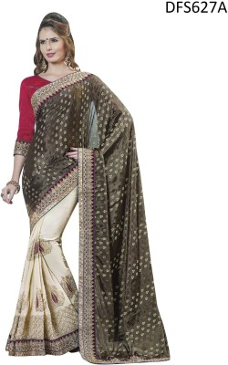 Firstloot Printed Fashion Viscose Sari