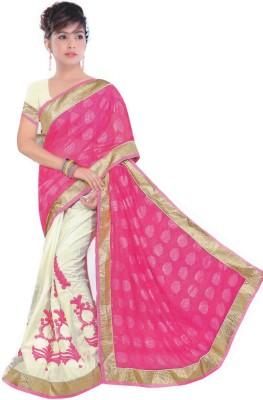 Jashiya Embriodered Assam Silk Dupion Silk Sari