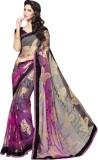 Tagbury Printed Fashion Chiffon Saree (M...