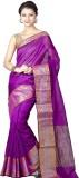 Chandrakala Solid Banarasi Art Silk Sare...