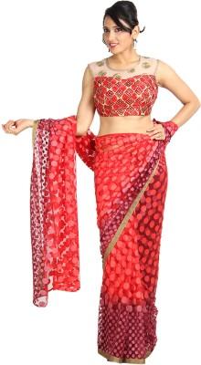 Vandanaraj Printed Fashion Net Sari